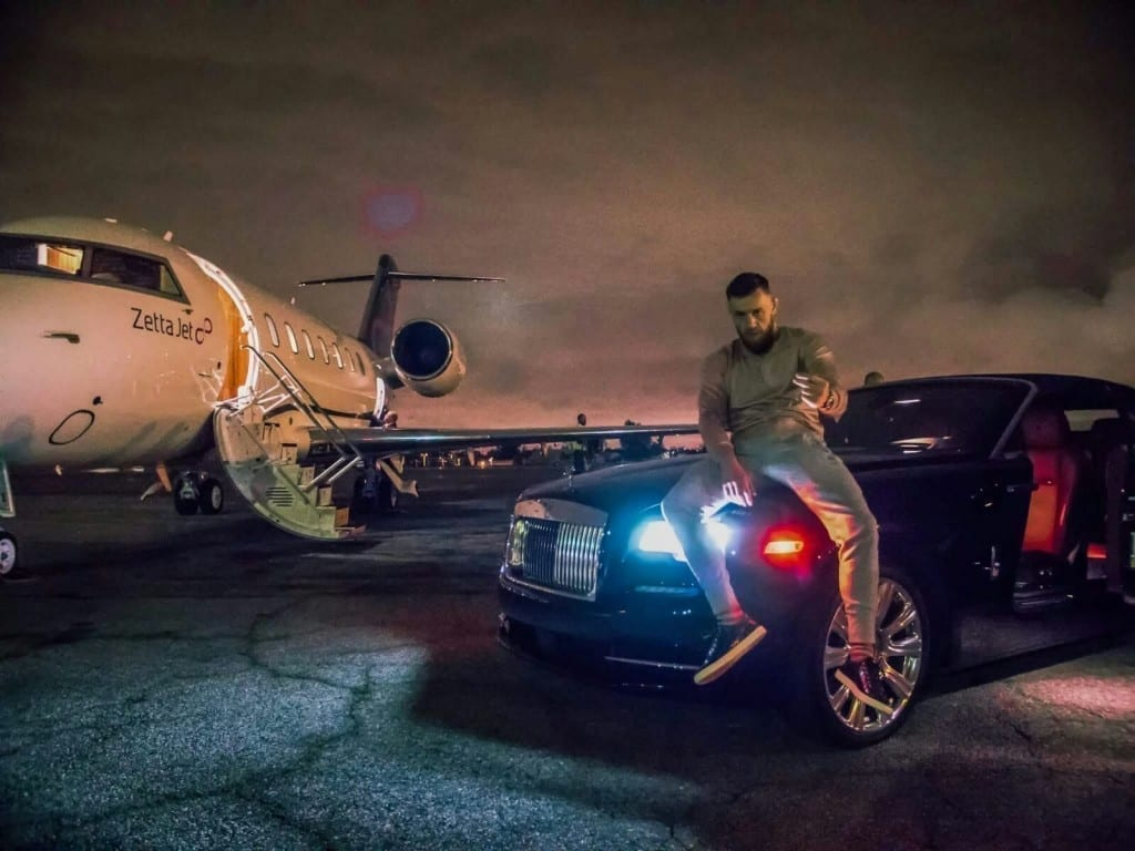 High End Cars >> Exclusive Video: Conor McGregor Lives The High Life ...