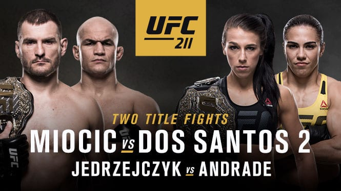 Watch: UFC 211 Early Weigh-ins...