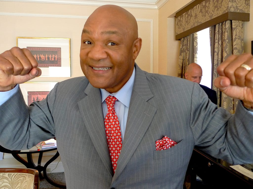 George Foreman on McGregor vs. Mayweather: 'It's going to be hard to top it. It may have been fight of the year'
