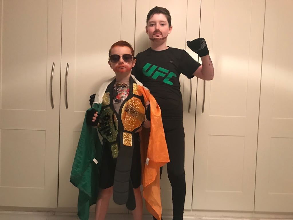 check out some of the conor mcgregor halloween costumes from 2017
