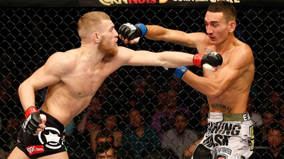 Conor McGregor Max Holloway has done a \u201cgreat job\u201d opens door to fight at 155-pounds  sc 1 st  The Mac Life & Conor McGregor: Max Holloway has done a \