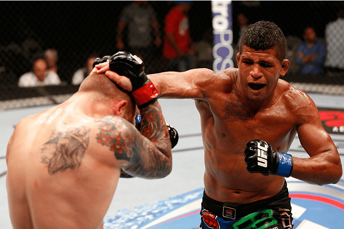 Image result for gilbert burns ufc