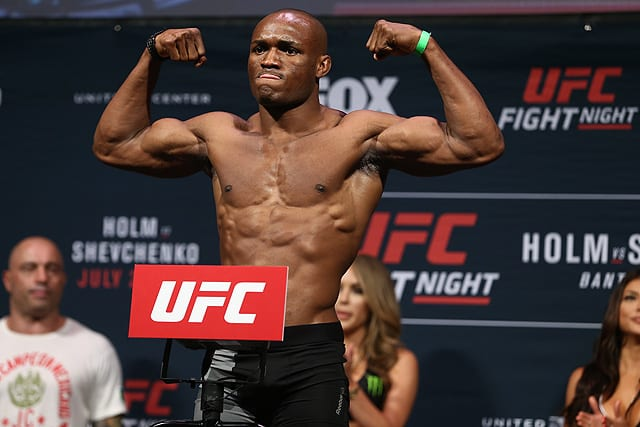 Welterweight title bout between champion Kamaru Usman and Gilbert Burns confirmed for UFC 258 thumbnail