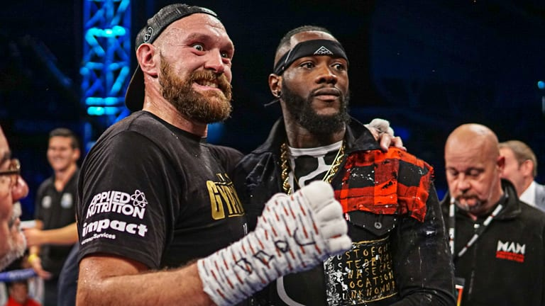 Image result for deontay wilder tyson fury""