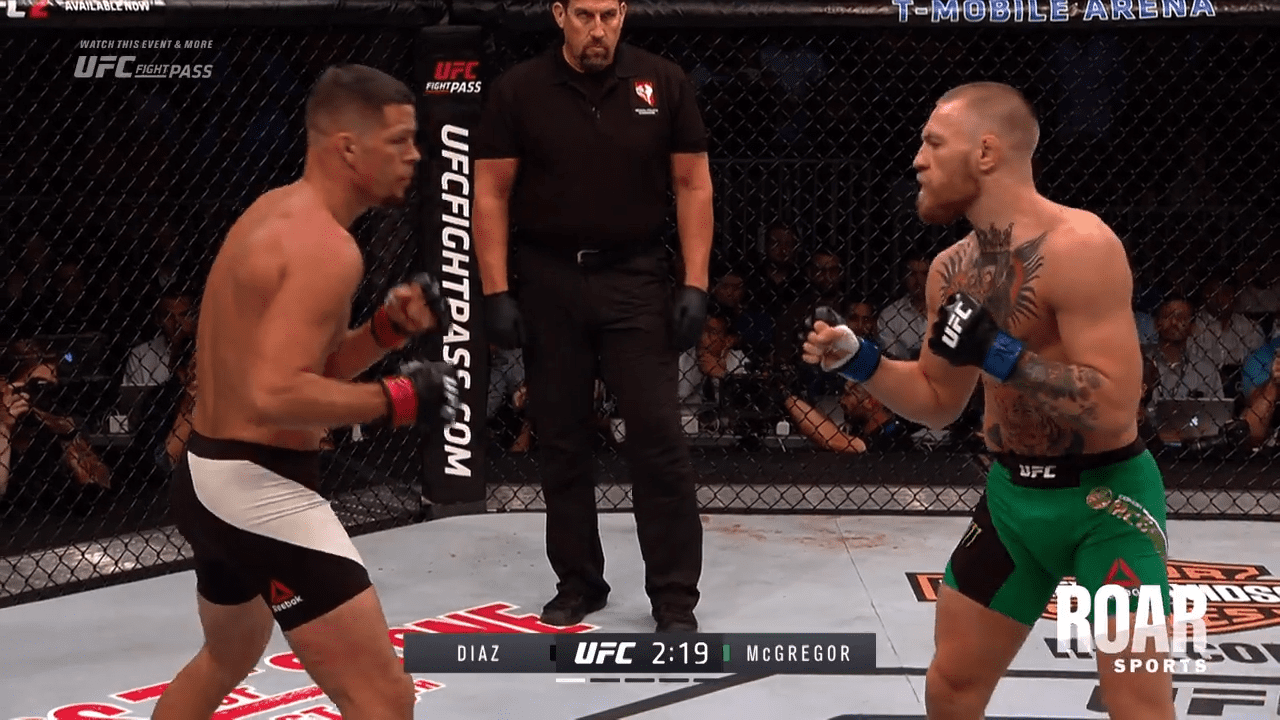 Free Fight Vid Conor Mcgregor Vs Nate Diaz 2 Themaclife