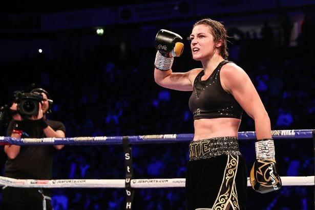 Katie Taylor puts on clinic over Miriam Gutierrez to retain world titles