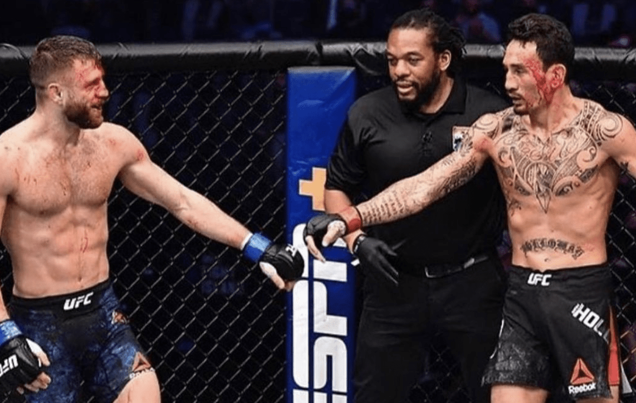 """Calvin Kattar problems statement after Max Holloway loss:""""There is no stopping the man who doesn't quit"""" thumbnail"""