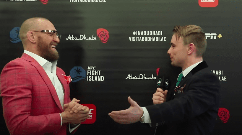 Watch: 'Part of me wants to bust him up, take a back step and get into the later rounds' — Conor McGregor talks Dustin Poirier rematch, Max Holloway's boxing thumbnail