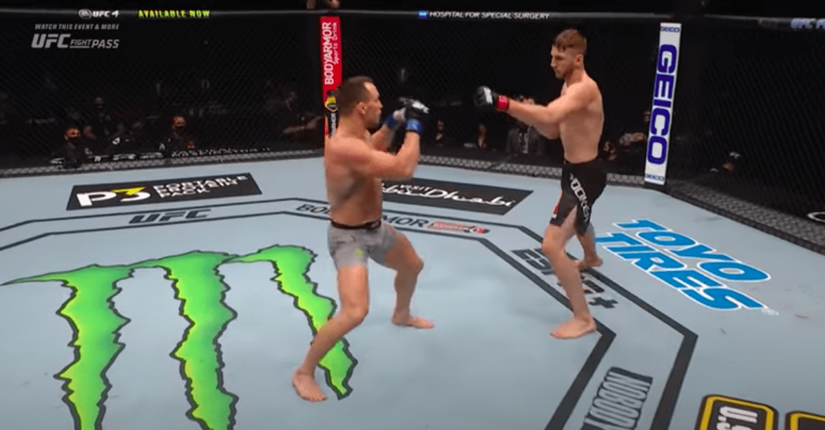Business news  news latest news  business updates Free Fight: Watch Michael Chandler take out Dan Hooker in his UFC debut thumbnail