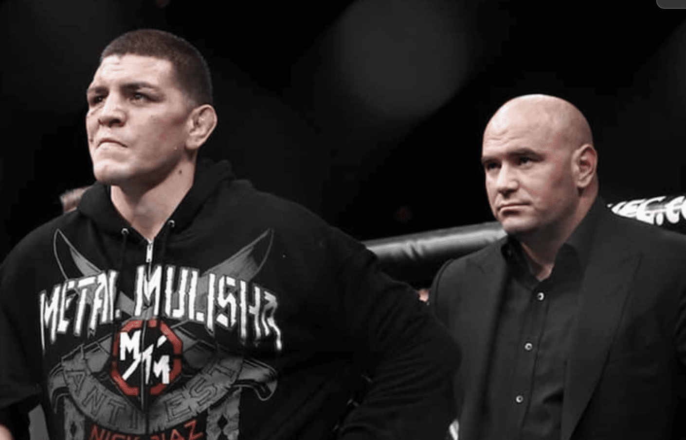 """Dana White still unsure on Diaz return: """"I just question how bad he really wants to fight"""""""